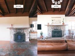 No Ceiling Light In Living Room The Joshua Tree House Before After Photos Designcomb