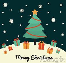 christmas tree gift box background vector u2013 over millions vectors