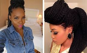braided pinup hairstyles 29 senegalese twist hairstyles for black women stayglam