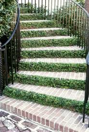 flowers and greenery in between the steps 25 dreamy ideas