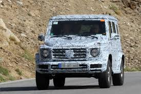 used mercedes g wagon new 2018 mercedes g class spied by car magazine