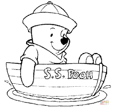 winnie pooh coloring pages free coloring pages