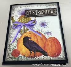 graphic 45 time to flourish halloween cards u2013 my sisters scrapper