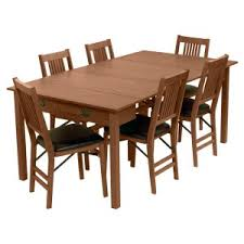 Dining Table With Extension Extension Leaf Kitchen Dining Tables Hayneedle
