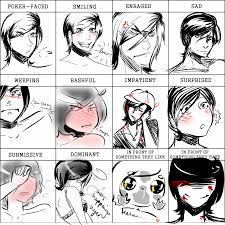 face expression meme by bubbalar on deviantart