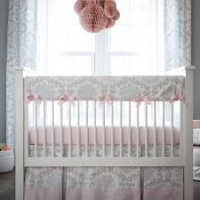 Gray Baby Crib Bedding Pink Gray Crib Bedding Modern Bedding Bed Linen