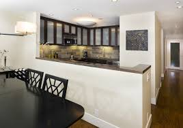 neoteric ideas half wall kitchen designs backsplash pictures
