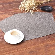 placemats for round table pauwer wedge placemats for round tables heat insulation stain