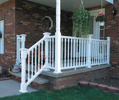 Install Banister Porch Railing Installation Help The Home Depot Community
