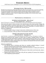 exles of sales resumes summary of qualifications resume exle resume sles