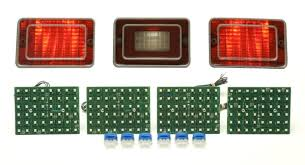 dakota digital led tail lights 1973 chevy impala led tail lights dakota digital lat nr421