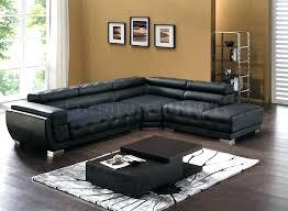 Modern Leather Sectional Sofa Modern Black Sectional Sofa U2013 Knowbox Co