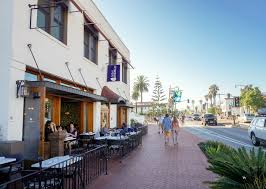 one block from the beach in santa barbara la jolla mom