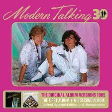 talking photo album second album 30th anniversary edition by modern talking