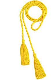 graduation cord graduation honor cords royal blue and gold sports