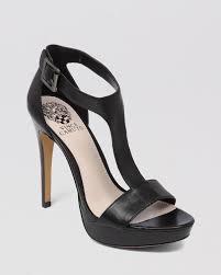 lyst vince camuto open toe platform sandals jerimya high heel in
