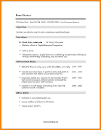 Acting Resume No Experience Academic Writing Essay Outline Personal Statement University Of