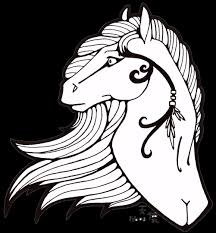 horses coloring pages