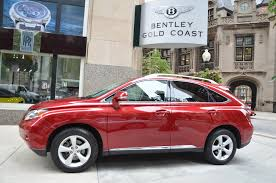 lexus red rx 350 for sale 2012 lexus rx 350 stock m526a for sale near chicago il il
