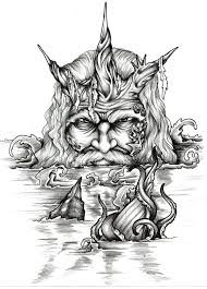 best 25 poseidon tattoo ideas on pinterest poseidon drawing