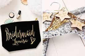 bridesmaids gifts the best bridesmaids gifts ideas thanks you presents uk