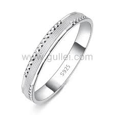 simple wedding bands engraved sterling silver simple wedding band for personalized