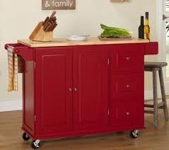 kitchen carts and islands small table on wheels workstation wooden