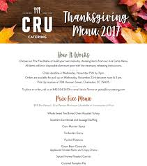 thanksgiving with cru charleston catering wedding south carolina