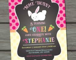 bunny birthday party invitations oxsvitation com