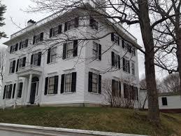 Federal Style House Monica Pelayo Archives U0026 Public History At Umass Boston