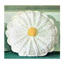 Crochet Home Decor Patterns Free Crochet Pillow Pattern Vintage Crochet Daisy Pillow Pattern