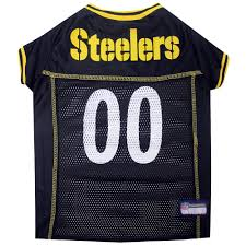pets first pittsburgh steelers nfl mesh pet jersey petco