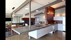 Kitchen Countertop Ideas Minimalist Concrete Kitchen Countertop Ideas Youtube