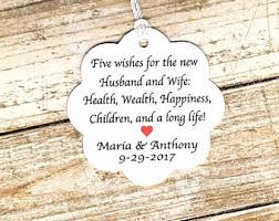 wedding wishes poem five wishes poem etsy