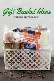 basket ideas gift basket ideas for the coffee lover gal on a mission