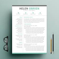 one page resume template word 9 one page resume templates free premium templates
