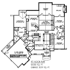 Mountain House Floor Plans by Nantahala Bungalow House Plan Blueprints Architectural Drawings
