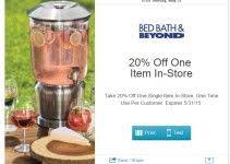 Online Coupon Bed Bath And Beyond 16 Best Bed Bath Beyond Coupons Images On Pinterest Bed U0026 Bath