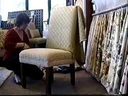 slipcover parson chair tutorial part 1 by window coverings by