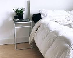 simple nightstand etsy