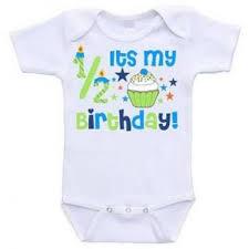 birthday onesie print 1 2 birthday onesie