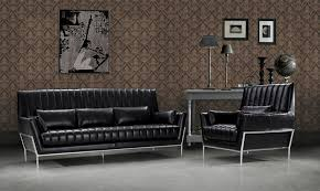 Luxury Sofa Set Luxury Black Leather Sofa Set
