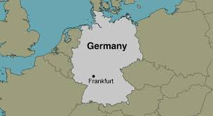 frankfurt on world map frankfurt germany location map