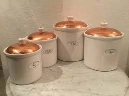 vintage benjamin u0026 medwin set of four 4 white ceramic canisters