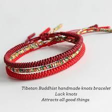 bracelet knots images Handmade knots lucky rope bracelet protection kundalinispirit jpg