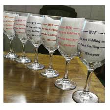 wine birthday gifts wine glasses any color wine glass from tilly jean designs