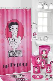 Graphic Shower Curtains by Amazon Com Popular Bath Betty Boop Fabric Shower Curtain Home