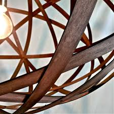 Wooden Pendant Lighting by Timber Pendant Lights Gap Lighting Designs