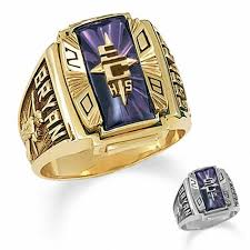 high school class jewelry men s 10k gold crestline legacy high school high school class ring