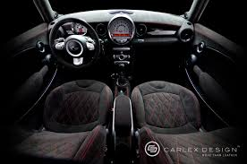 Mini Cooper Interior Carlex Design U0027s Mini Cooper S Custom Interior Autoevolution